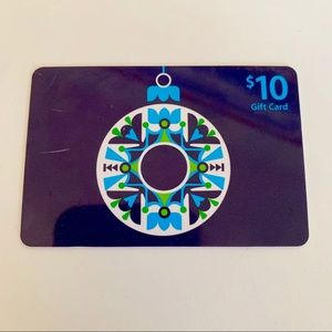 Free w/ Purchase $10 iTunes Gift Card